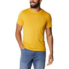 Columbia Maxtrail SS Logo Tee Men, geel